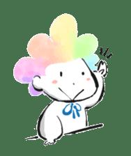 Rainbow kid sticker #860150