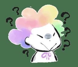 Rainbow kid sticker #860151