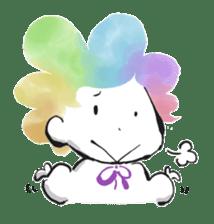 Rainbow kid sticker #860154