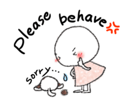 Tekuchun and Kenchan For buddies (en) sticker #860830