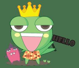 Freddy Froggy sticker #861041
