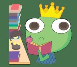 Freddy Froggy sticker #861043