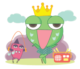 Freddy Froggy sticker #861053