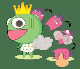 Freddy Froggy sticker #861070