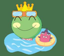 Freddy Froggy sticker #861072