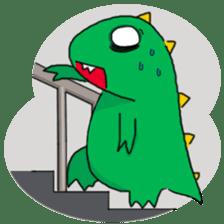 Doodle Dino Sam (I) sticker #861482