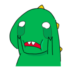 Doodle Dino Sam (I) sticker #861493