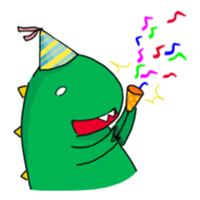 Doodle Dino Sam (I) sticker #861497