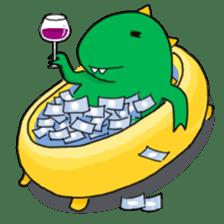 Doodle Dino Sam (I) sticker #861499