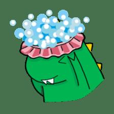 Doodle Dino Sam (I) sticker #861502