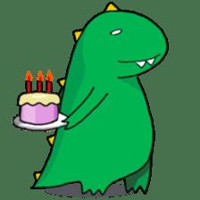 Doodle Dino Sam (I) sticker #861504