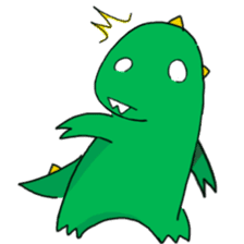 Doodle Dino Sam (I) sticker #861507