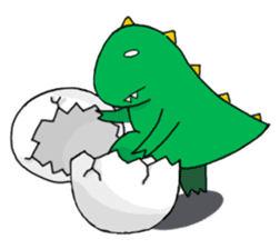 Doodle Dino Sam (I) sticker #861513