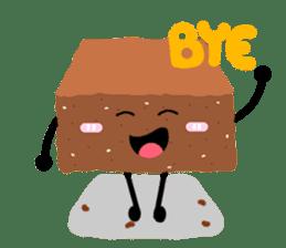 Bellony Brownie sticker #861640
