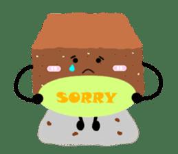 Bellony Brownie sticker #861656