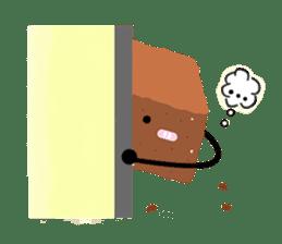 Bellony Brownie sticker #861660