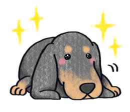 A dog and cat sticker #861884