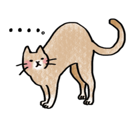 A dog and cat sticker #861896