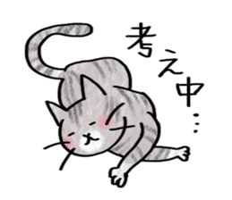 A dog and cat sticker #861899