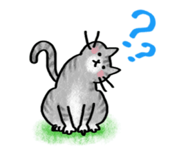 A dog and cat sticker #861902