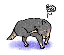 A dog and cat sticker #861904