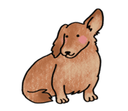A dog and cat sticker #861915