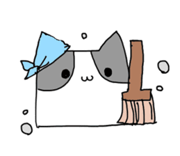 Square Cats sticker #862028