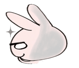mireisan of a rabbit sticker #862554