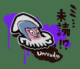 Squid girl IKAKO 13 sticker #862600
