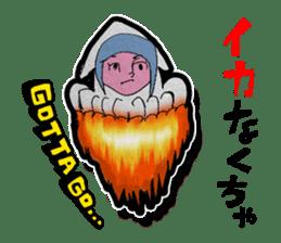 Squid girl IKAKO 13 sticker #862607