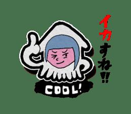 Squid girl IKAKO 13 sticker #862612