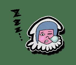 Squid girl IKAKO 13 sticker #862621