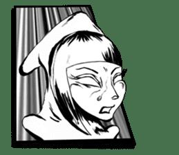 Squid girl IKAKO 13 sticker #862622