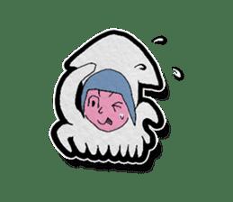 Squid girl IKAKO 13 sticker #862629