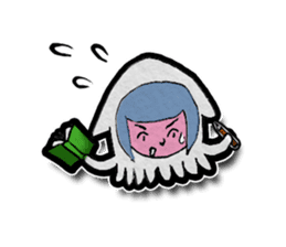 Squid girl IKAKO 13 sticker #862630