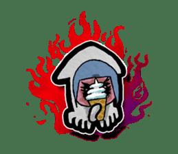 Squid girl IKAKO 13 sticker #862633