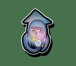 Squid girl IKAKO 13 sticker #862637