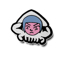 Squid girl IKAKO 13 sticker #862638