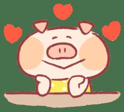 Cute pig sticker #862659