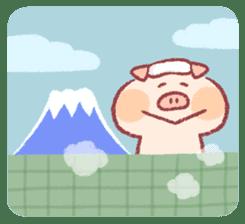 Cute pig sticker #862672