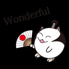 Samurai cat for english