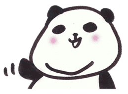 Fat Panda sticker #863764