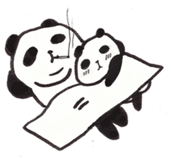 Fat Panda sticker #863777