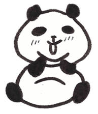 Fat Panda sticker #863783
