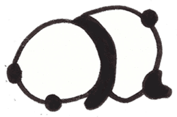 Fat Panda sticker #863788
