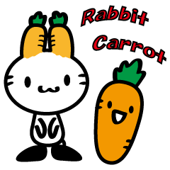 rabbit carrot