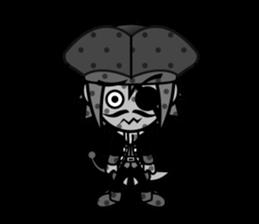 Diamond Pirate-English sticker #865764