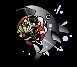 Diamond Pirate-English sticker #865778