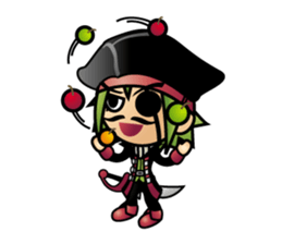 Diamond Pirate-English sticker #865780