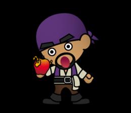 Diamond Pirate-English sticker #865793